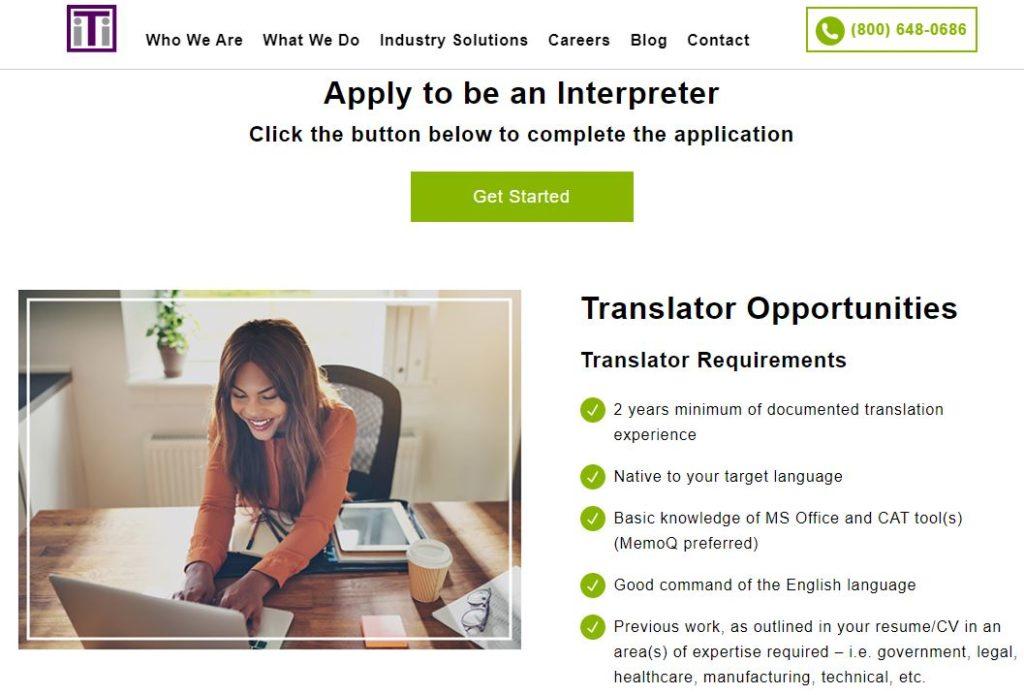 home based translation jobs iti