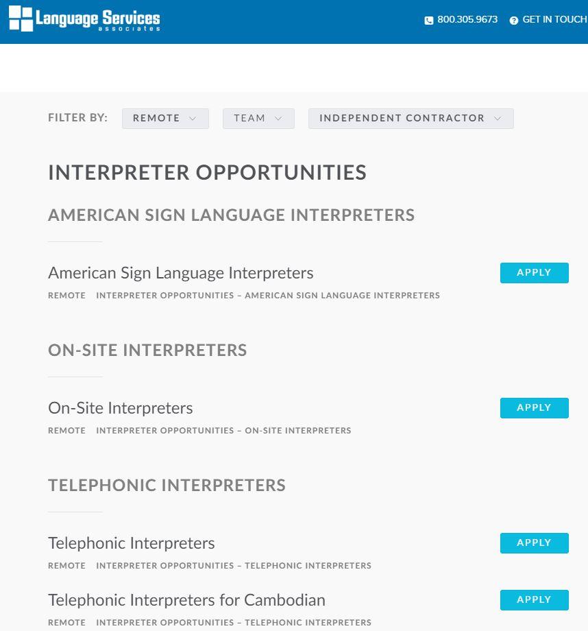 home based translation jobs language services associates