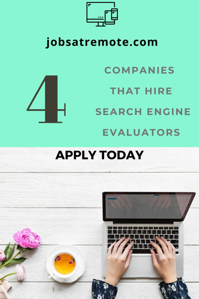 search engine evaluator job