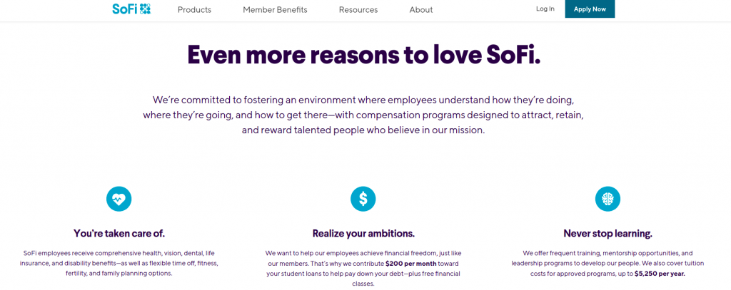 remote jobs in washington dc sofi benefits