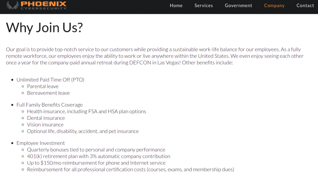 companies-with-remote-jobs-arizona-phoenix-cybersecurity--benefits